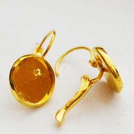 Kuldsed kõrvarõngahaagid kameele 12mm, 2 tk
