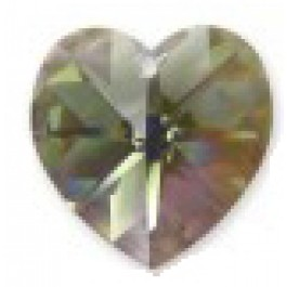 Swarovski Heart Pendant Black Diamond AB, 1 tk