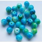 Klaashelmes 6mm sinine-roheline-kollane, 10 tk
