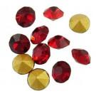 Klaaskristall 3,0mm punane, 1 tk