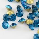 Klaaskristall 2,0mm,sinine, 10 tk