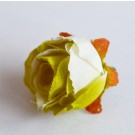 Siidilill Roos 30mm hele beežikasroheline, 1 tk   Ei saa saata maksikirjaga.