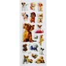 Kleepsud Koerad 17x7cm, 1 tk