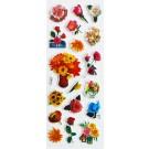 Kleepsud Lilled 17x7cm, 1 tk