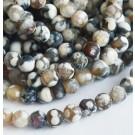 Tuliahhaat 6mm looduslik  värvitud hall-pruun-valge, 1 tk