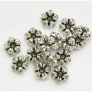 Antiikhõbedane metallhelmes 7,5mm, ava 1mm, 10 tk