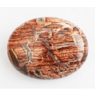 India Ahhaat 44-46x34-36x15-17mm looduslik lapik auguta kivi, 1 tk   Ei saa saata liht- ega tähitud maksikirjaga.