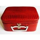 Ehtelaegas, kosmeetikakohver 240x180x110mm punane, 1 tk.  Saatmine pakiautomaadi kaudu.