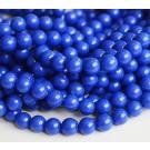 Lapis Lazuli 8mm sünteetiline sinine, ava 1mm, pakis 10 tk