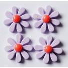 Liimitav kunstvaigust kaunistus 17~18x5~6mm, lilla, pakis 4 tk