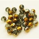 Kuldse hallikirju klaashelmes  6 mm, 1 tk