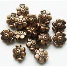 Vasevärvi metallhelmes lill 9x8mm, 1 tk