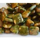 Rüoliit 20x20mm sünteetiline kivi, 4 tk