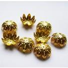 Kuldne helmekübar 10mm, 1 tk