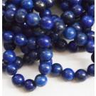 Lapis Lazuli 6mm, looduslik, värvitud, 1 tk