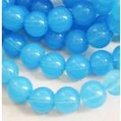 Opaliit 10mm sünteetiline värvitud, sinine, 1 tk