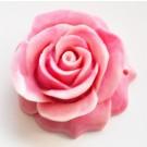 Korall sünteetiline 47x49x22mm, roosa, 1  tk.  Ei saa saata liht- ega tähitud maksikirjaga.