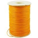 Kollakas-oranž vahatatud pael 1,0mm, pakis 1m