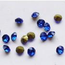 Klaaskristall 2,8mm koonus, tumesinine, 10 tk
