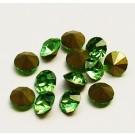 Klaaskristall 5,6mm koonus, roheline,  1 tk