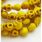 Sünteetiline hovliit pealuu 9x7,5x9mm, kollane, 1 tk
