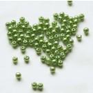 Roheline akrüülpärl 4mm, 100 tk