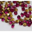 Akrüülkristall 2,5mm AAA,  koonus, lillakaspunane, 30 tk