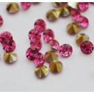 Akrüülkristall 2,5mm AAA, lillakasroosa koonus, 30 tk