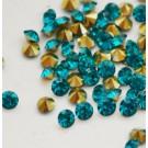 Akrüülkristall 2,5mm AAA, sinine koonus, 30 tk