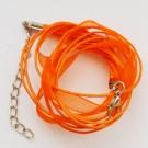 Oranž  kaelakee pael  45 cm, 1 tk