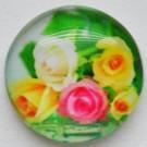 Klaaskamee Lill 18mm, 1 tk