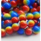 Ümar klaashelmes 10mm värviline, 1 tk