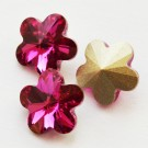 Swarovski Flower Fancy  10mm Fuchsia, 1 tk