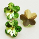 Swarovski Flower Fancy  10mm Peridot, 1 tk