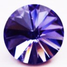 Swarovski Rivoli Chaton 12mm Tanzanite, 1 tk