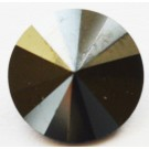 Swarovski Rivoli Chaton 12mm Hematite, 1 tk