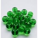 Roheline klaashelmes 6mm, 10 tk