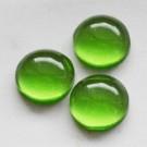 Kunstvaigust kamee 12mm roheline, 1 tk