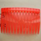 Juuksekammi toorik 70x46mm plastik punane, 1 tk