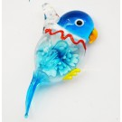 Käsitöö ripats Papagoi 59x27mm helesinine, 1 tk