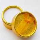 Kinkekarp 55x32mm ümar kuldne, 1 tk  NB! Ei saa saata liht- ega tähitud maksikirjaga