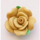 Pruun fimo roos, 20mm, 1tk