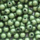 Miracle ümar akrüülhelmes 8mm roheline, 1 tk