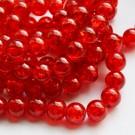 Mõraline ümar klaashelmes 10mm punane, 1 tk