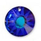 Swarovski Sun Pendant Bermuda Blue 12mm, 1 tk