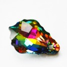 Swarovski Baroque Pendant Crystal Vitrail Medium 16x11mm, 1 tk
