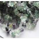 Fluoriidi chipsid 4-6mm looduslik, nööril u 44-45cm - 1 tk