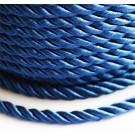 Декоративный шнур 4мм тёмно-синий , 1 м