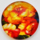 Lasikapussi Kukka 18mm, 1 kpl