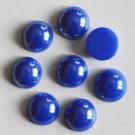 Posliini kapussi 11,5x5mm sininen, 1 kpl.